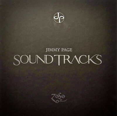 JP Records 4-LP Box JPRLPBX1: Jimmy Page - Sound Tracks - 2015 UK/USA SEALED