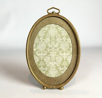 Antique Vintage French Gilt Brass Picture Frame