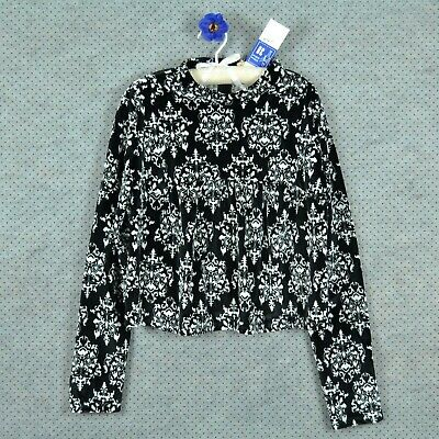 725 Sheego Pull Pull Tricot Pull Taille 40//42 noir belle dos NEUF