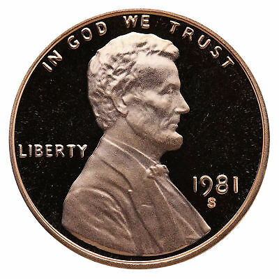 1981-S Type 1 Filled S Proof Lincoln Cent Nice Coins Priced Right Shipped FREE