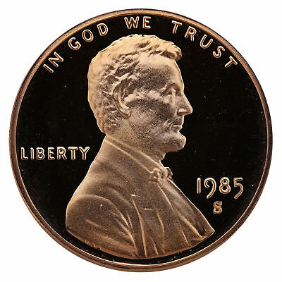 1985-S  Proof Lincoln Cent Nice Coins Priced Right Shipped FREE