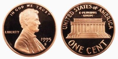 1995-S  Proof Lincoln Cent Nice Coins Priced Right Shipped FREE