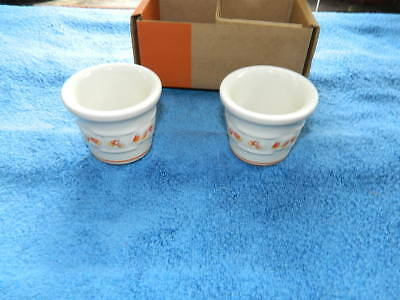 Longaberger Candy Corn Two Pack Votive Cups NIB