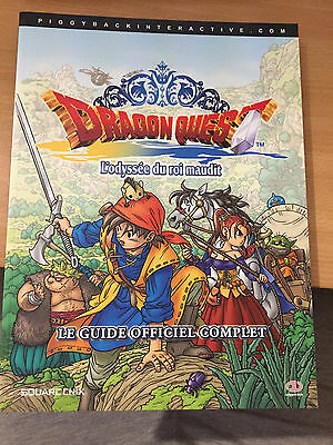 Guide Officiel Dragon Quest L'odyssée Du Roi Maudit