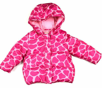 013346387 GYMBOREE GIRLS WINTER puffer sleeveless coat jacket size 2T-3T with ...