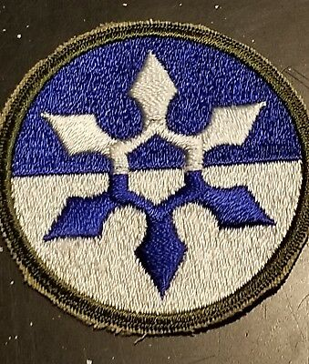 Scarce WWII US Army 33rd Corps GHOST Patch