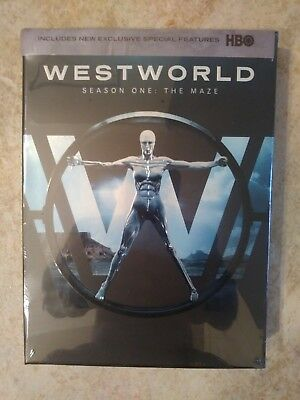Westworld: The Complete First Season 1 (DVD, 2017, 3-Disc Set) NEW