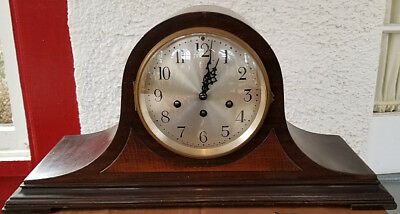 Vintage Seth Thomas Inlaid Westminster Chime Mantle Clock 113 Movement Repairs