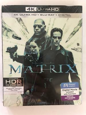 NEW The Matrix 4K Ultra HD, Blu Ray & Digital