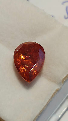 4.8 ct. Natural Earth-Mined Red-Yellow Sphalerite