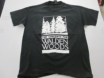 VTG Concert For Walden Woods 1993 Aerosmith Elton John Sting T Shirt Giant XL
