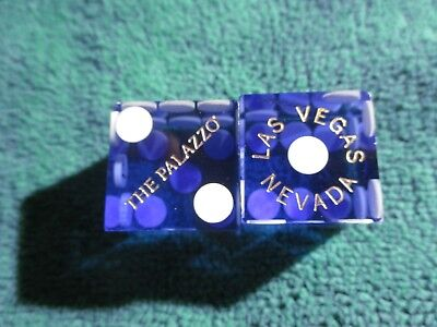 Light Blue Palazzo Las Vegas Casino Dice  Matching#'s