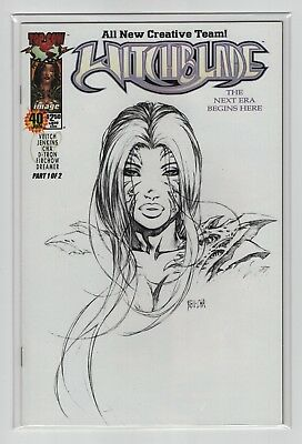 Witchblade #40 (DF Sketch Variant w/ COA)  Dynamic Forces Limited Edition, NM-
