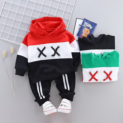 7de1f48ce DIIMUU Kids Boys Clothes Clothing Sets Baby Boy Outfits Hoodies + Jeans  Suits