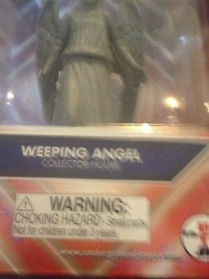 """Doctor Dr Who Weeping Angel Action Figure 5.5"""" Underground Toys BBC"""