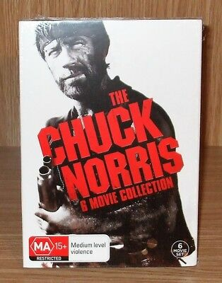 Chuck Norris (6-Movie Collection) Dvd 6-Disc Box Set Brand New & Sealed