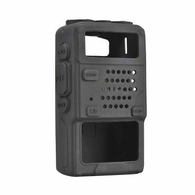Walkie Talkie Holder Rubber Soft Handheld 2 Way Radio Case For Baofeng BF-UV5R