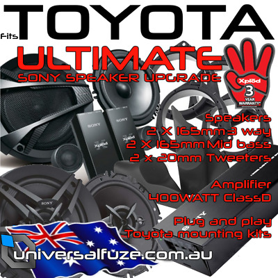 Sony Ultimate audio pack for Toyota Hilux 2005-2014