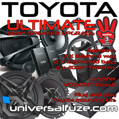 Sony Ultimate audio pack for Toyota Hilux 2015 onwards