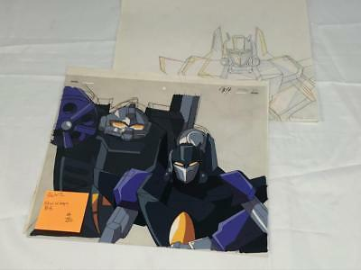 Transformers Japanese Beast Wars 2 Ii Starscream Bb Animation Art Cell Lot 296