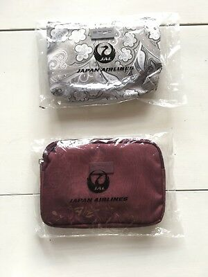 Japan Airlines Business Class Amenity Kit By Tatsumura and ETRO