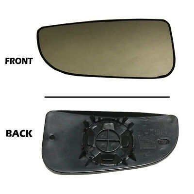 Titanium Plus 2005-2009 Dodge Ram 1500 Front,Right Passenger Side DOOR MIRROR PLATE WITHOUT HEATED TOW PACKAGE WITH MANUAL