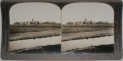 Keystone Stereoview of Dutch Fishing Village, HOLLAND from 1910's Education Set