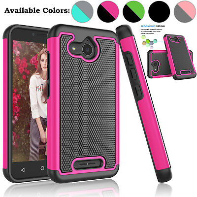 For Alcatel Tetra Case Phone Shell Hybrid Shockproof Armor Impact Back Cover