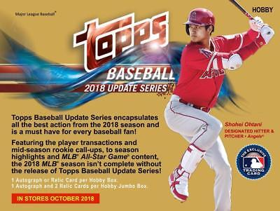 2018 Topps Update Series 1-300 Singles $.99 *You Pick Card* Complete Your Set