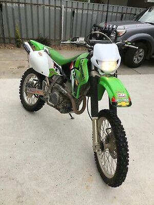 kawasaki klx400/ same as drz400