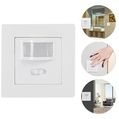 New Occupancy Sensor PIR Motion Light Switch Presence Detection &Selection Home