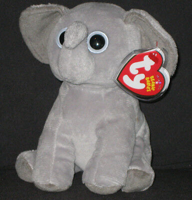53862e78caf TY BAHATI THE ELEPHANT BEANIE BABY - MINT with MINT TAGS - WWF ...