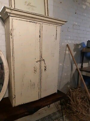 Antique 18th Century Rustic Oak - Kitchen Larder - Shabby Chic - January Special