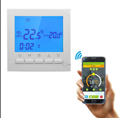 Nuovo Digitale WIFI LCD Screen Smart Termostato Programmabile Cronotermostato