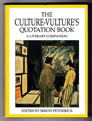 The Culture-Vulture's Quatation Book, A Literary Companion, Good, HB (100)