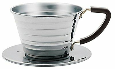Kalita Wave Series Stainless Steel Dripper Pour Over Drip for 1 to 2 cups #04021