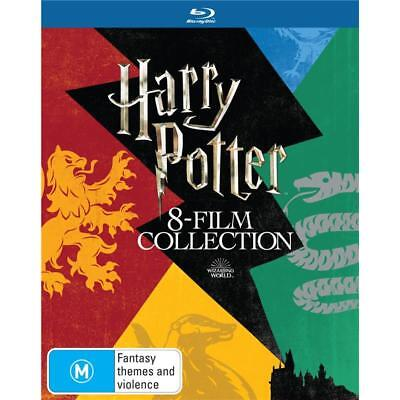 Harry Potter Complete Box set 1 2 3 4 5 6 7 8 Blu Ray RB 8-Movie Limited Edition