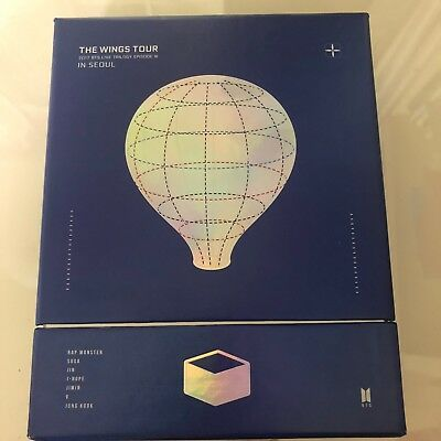 BTS 2017 The Wings Tour In Seoul DVD Live Trilogy Episode III Set No Photo Card