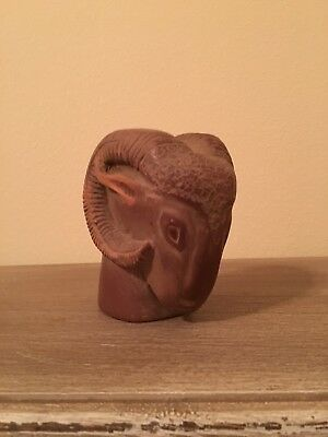 Vintage Native American Stone Ram Figurehead