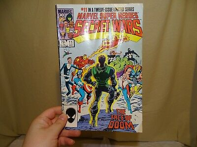 marvel super heroes secret wars vol 1 #11 march 1985 earmarked corner