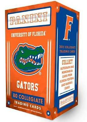 2015 Panini Univ. Florida Gators Multi Sport Retail Blaster Box Trading Cards
