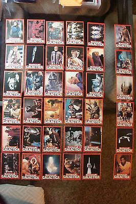 Battlestar Galactica PACK FRESH 1978 Wonder Bread Trading 36 card SET lot PSA