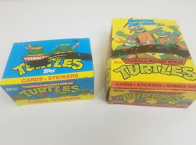 Topps Teenage Mutant Ninja Turtles One 1989 Series 2 Box & One 1990 Series 2 Box