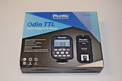 Phottix Odin TTL Wireless Flash Trigger Set for Nikon PH89055