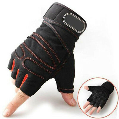 Men Women lifting Gloves Training Weight Gym Fitness Wrap Exercise Wrist Sport