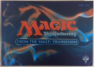 Magic the Gathering FTV From the Vault Transform Factory Sealed Complete Set