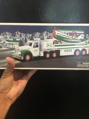 Hess Toy Truck And Airplane 2002 New In Box