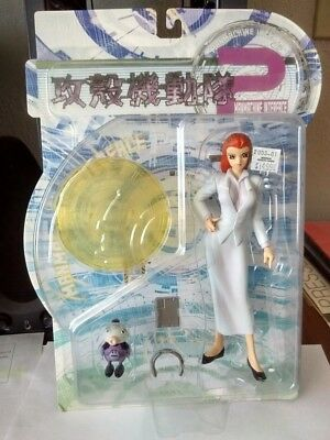 Ghost In The Shell ManMachine Interface Motoko White Dress Figure w/Bot MOC