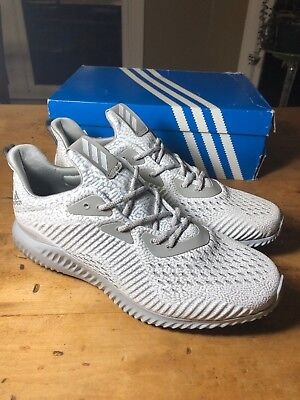 eb0e792faf656 ... adidas alphabounce ams mens bw0427 grey forged mesh running shoes size  10.5 m