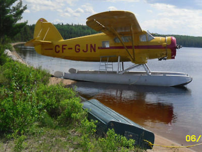 Noorduyn Aviation Norseman Mk.VI Seaplane Aircraft Floatplane